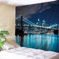 City Bridge Print Tapestry Wall Hanging Art Decoration