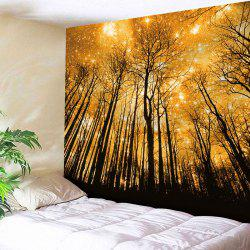 Wall Hanging Golden Grove Microfiber Tapestry