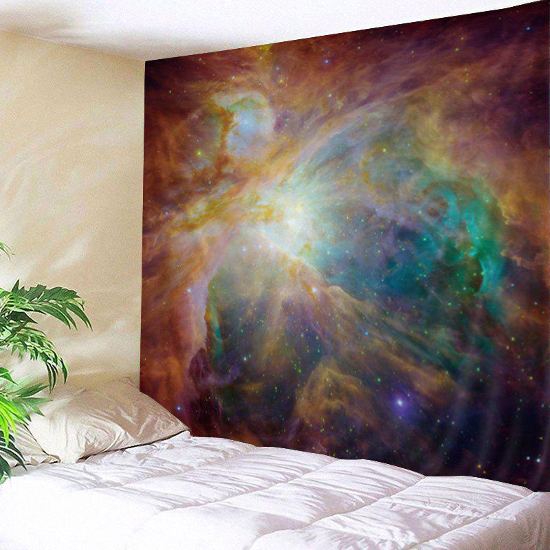 Galaxy Print Tapestry Wall Hanging Art DecorationHOME<br><br>Size: W79 INCH * L59 INCH; Color: COLORMIX; Style: Natural; Material: Polyester; Feature: Washable; Shape/Pattern: Star; Weight: 0.4500kg; Package Contents: 1 x Tapestry;
