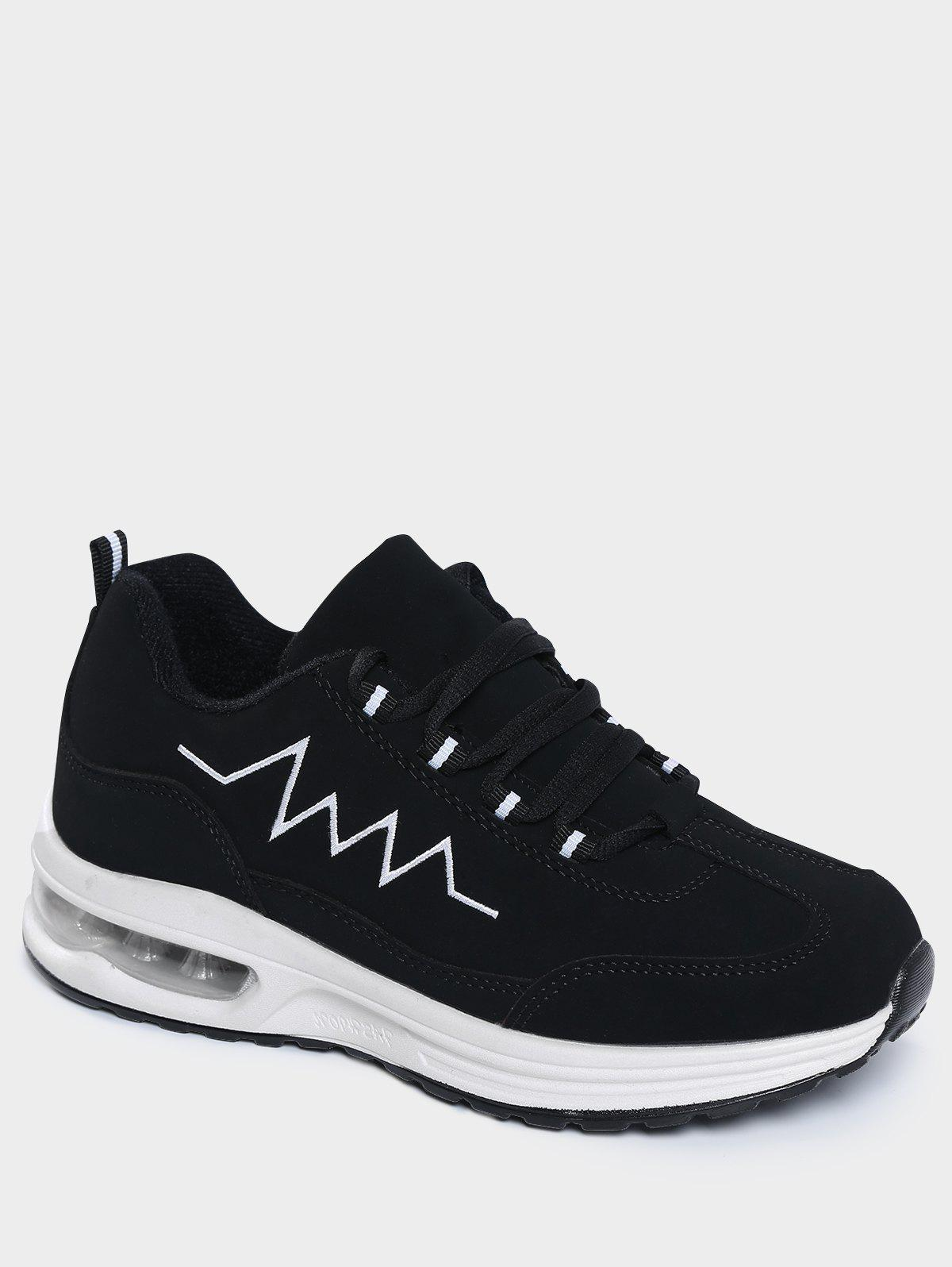 Shops Embroider Line Air Cushion Athletic Shoes