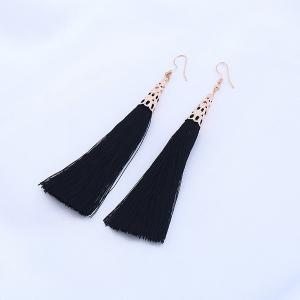 Vintage Tassel Drop Hook Earrings