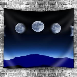 Tapis suspendu mural de nuit Moon Waterproof Hanging -