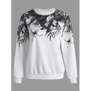 Floral Long Sleeves Sweatshirt