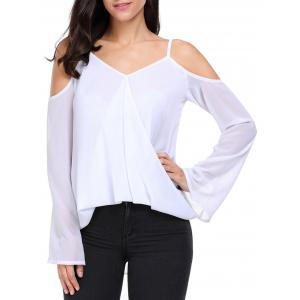 Off The Shoulder Chiffon Cami Top