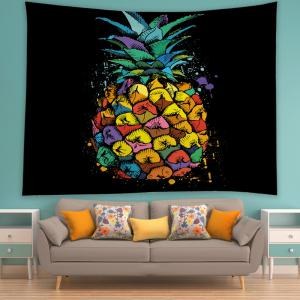 Pineapple Print Tapestry Wall Hanging Art Decoration -