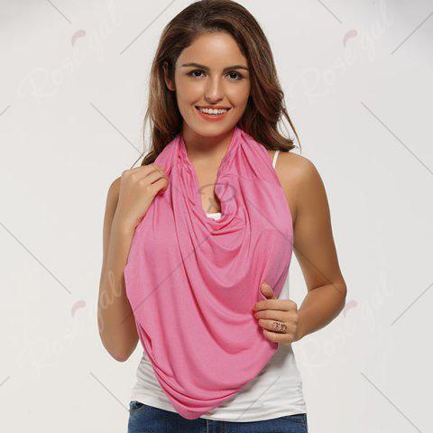 Trendy Breastfeeding Portable Nursing Cover Scarf - WATERMELON RED  Mobile