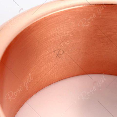 Store Wide Bangle Bracelet Stainless Steel Flask - ROSE GOLD  Mobile