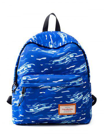 Shop Casual Nylon Printed Backpack