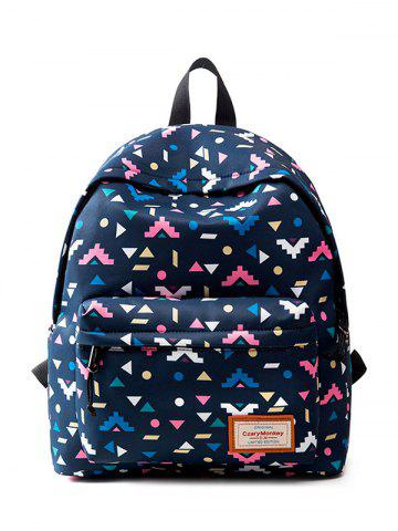 Discount Casual Nylon Printed Backpack
