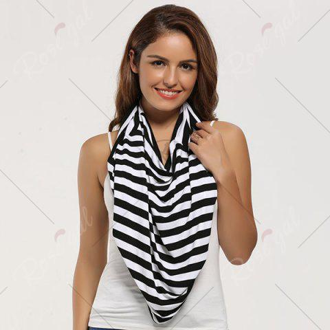 Discount Breastfeeding Nursing Scarf - BLACK  Mobile