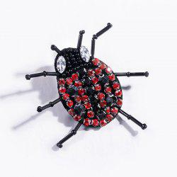 Rhinestoned Insect Brooch