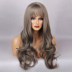 Full Bang Layered Long Curly Synthetic Wig