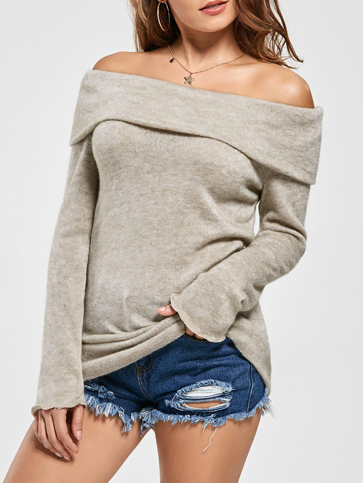 Outfit Off The Shoulder Sweater