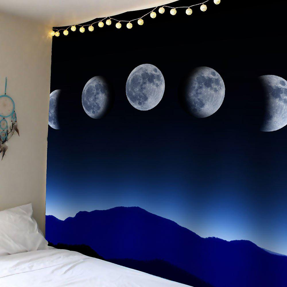 Tapis suspendu mural de nuit Moon Waterproof Hanging