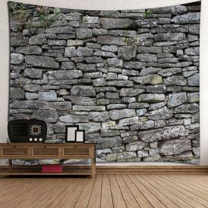 Home Decor Stone Print Waterproof Wall Tapestry -