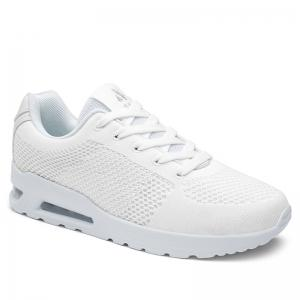Breathable Air Cushion Athletic Shoes - White - 38