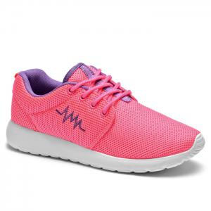 Breathable Embroidery Line Athletic Shoes
