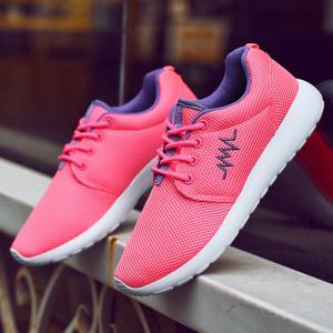 Breathable Embroidery Line Athletic Shoes -