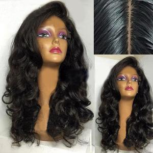 Long Side Parting Fluffy Loose Wave Synthetic Wig