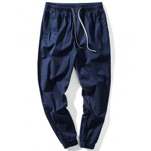 Taper Fit Drawstring Waist Jogger Pants