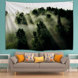 Wall Art Blanket Hanging Mystic Forest Tapestry -