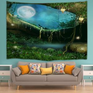 Home Decor Fairy Forest Wall Hanging Tapestry -