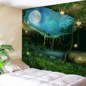 Home Decor Fairy Forest Wall Hanging Tapestry