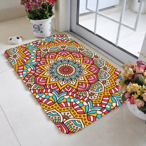 Bohemia Pattern Skidproof Area Rug - Colorful - W16 Inch * L24 Inch