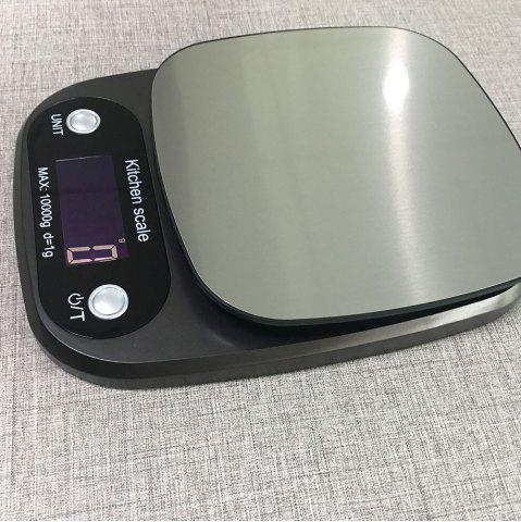 Hot Multifunction Electronic Food Scale with LCD - SILVER  Mobile