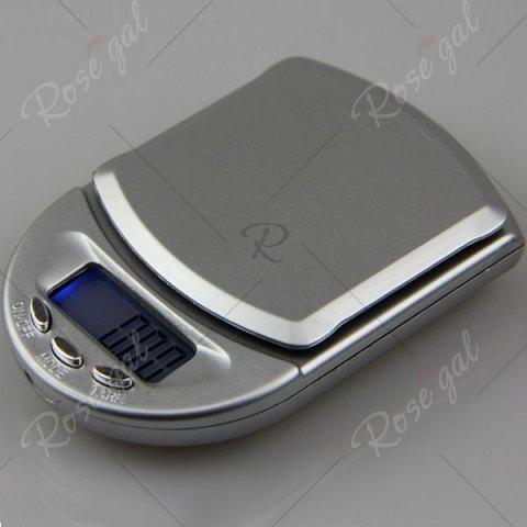 Affordable Mini Kitchen High Precision LCD Electronic Scale - SILVER  Mobile
