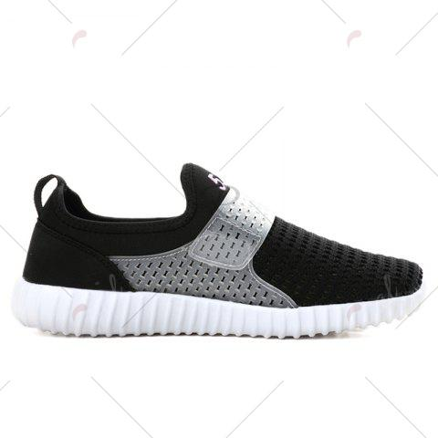 Outfits Breathable Figure Pattern Casual Shoes - 42 BLACK WHITE Mobile