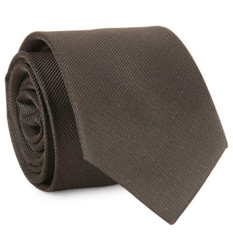Online Plain Formal Tie - BLACK  Mobile