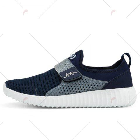 Outfit Breathable Figure Pattern Casual Shoes - 43 DEEP BLUE Mobile