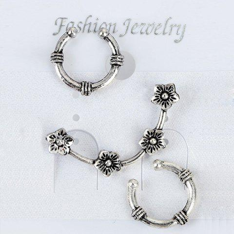 Cheap Two Horseshoe Ear Cuffs and Wintersweet Ear Climber