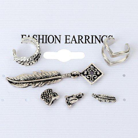 Outfit 6 Pieces Ethnic Ear Cuffs
