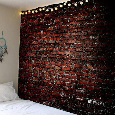 Outfit Brick Print Waterproof Wall Hanging Tapestry