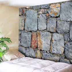 Architectural Stone Waterproof Wall Hanging Tapestry -