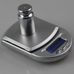 Mini Kitchen High Precision LCD Electronic Scale - SILVER