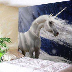 Unicorn Fabric Home Decoration Wall Tapestry -