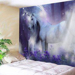 Fairy Unicorn Wall Decor Hanging Blanket Tapestry