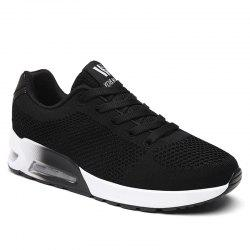 Breathable Air Cushion Athletic Shoes - BLACK