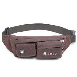 Casual Multifunctional Canvas Waist Bag