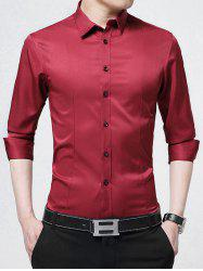 Long Sleeve Embroidery Business Shirt