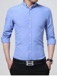 Button Down Long Sleeve Business Shirt