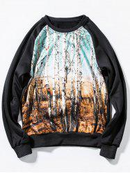 Tropical Forests Print Sweatshirt