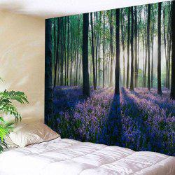 Forest Floral Print Tapestry Wall Hanging Art Decoration