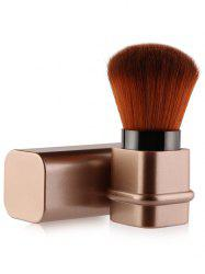 Square Telescopic Tube Blush Brush - ROSE GOLD