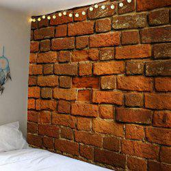 Bricks Print Wall Art Waterproof Tapestry -
