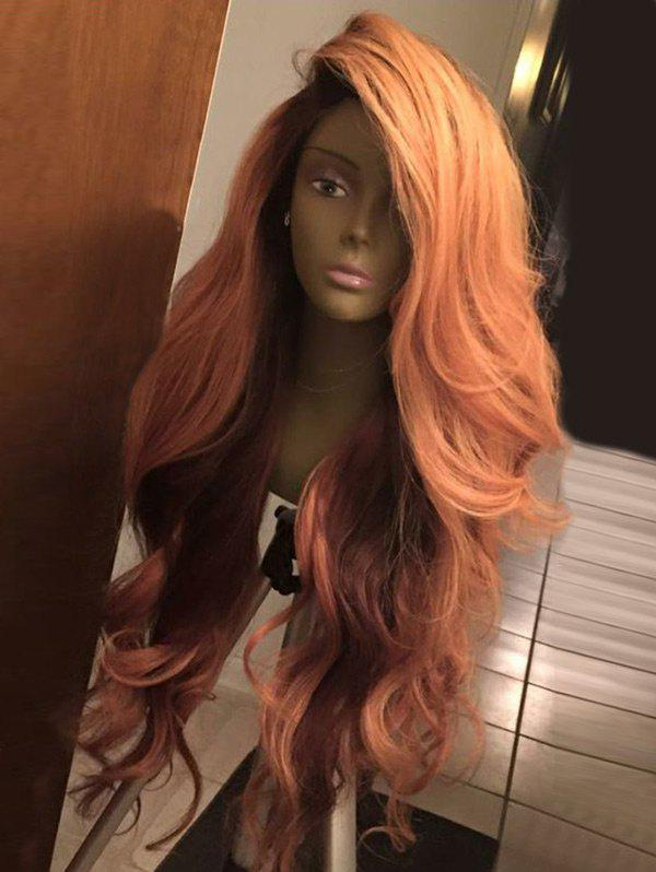Long Deep Side Part Layered Shaggy Wavy Synthetic WigHAIR<br><br>Color: COLORMIX; Type: Full Wigs; Cap Construction: Capless (Machine-Made); Style: Wavy; Material: Synthetic Hair; Bang Type: Side; Length: Long; Length Size(CM): 70; Weight: 0.2640kg; Package Contents: 1 x Wig;