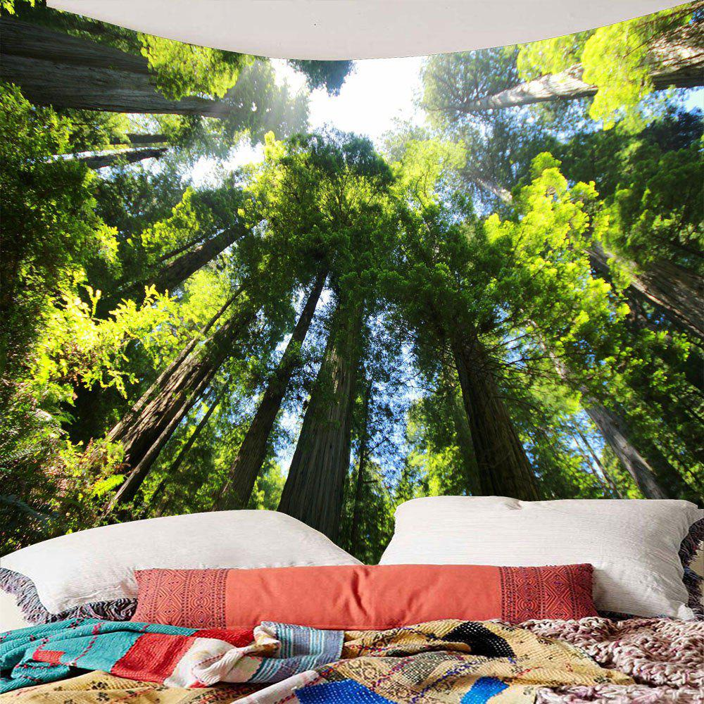 Fashion Tree Forest Waterproof Wall Art Tapestry